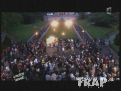 IAM, Chiens De Paille, Psy 4 De La Rime - Concert Sauvage Montmartre