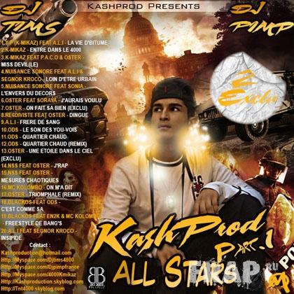 V.A. - Kash Prod All Star Part. 1 (2007)