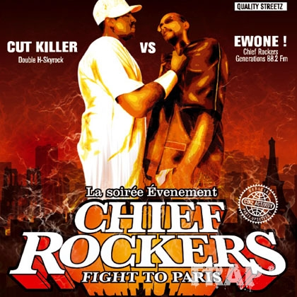 DJ Cut Killer & DJ Ewone - Chief Rockers Fight To Paris (2005)