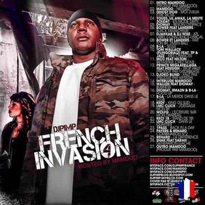 DJ PIMP - French Invasion Vol. 4 (2008)