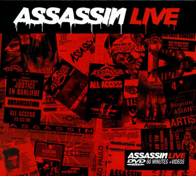 Assassin - Live (2002) [CD & DVDRip]