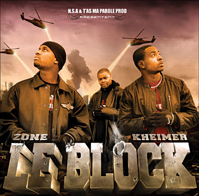 Alibi Montana, Kheimer & Zone - Le Block (2006) [CD & DVDRip]