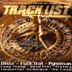 Track List - Hip Hop Underground #11 (2003)