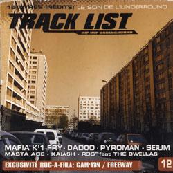 Track List - Hip Hop Underground #12 (2003)