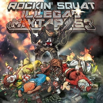 Rockin' Squat - Illegal Mixtapes 3 (2012)