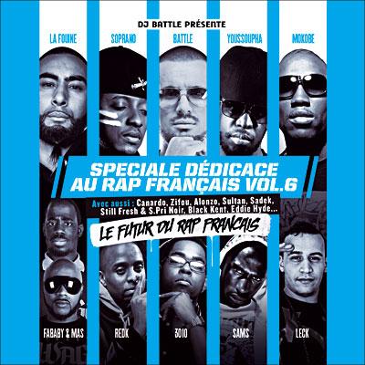 Speciale Dedicace Au Rap Francais Vol. 6 (2012)