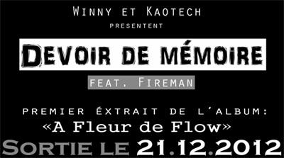 Winny & Kaotech - Devoir De Memoire feat. Fireman