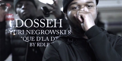 Dosseh фристайл-клип Que D'la D