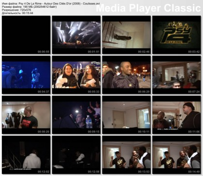 Psy 4 De La Rime - Autour Des Cites D'or (Live Au Dome De Marseille) (2009) [DVDRip]