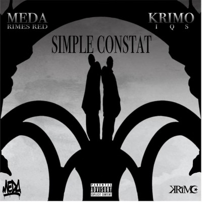 Krimo (IQS) & Meda Rimes Red - Simple Constat (2018)
